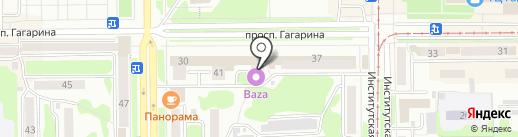 Ермолинские полуфабрикаты на карте Прокопьевска