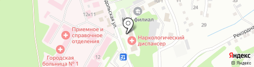 Прокопьевский наркологический диспансер на карте Прокопьевска