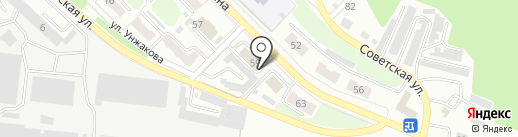 Энергосеть на карте Киселёвска