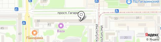 585 на карте Прокопьевска
