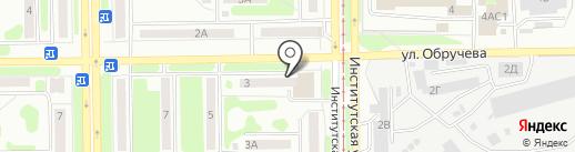 STRIKE DANCE на карте Прокопьевска