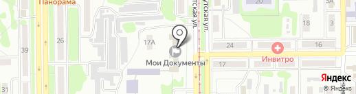 Мои документы на карте Прокопьевска