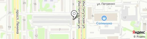 Софт-Инфо на карте Прокопьевска