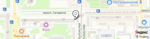 Ремонтная мастерская на карте Прокопьевска