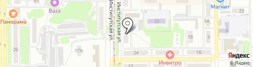 Нотариус Долонская К.А. на карте Прокопьевска