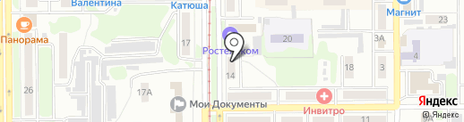 KDL на карте Прокопьевска