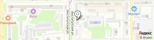 Прокопьевский центр телекоммуникаций на карте Прокопьевска