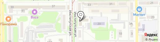 PickPoint на карте Прокопьевска