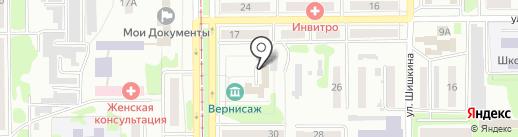 Управление культуры Администрации г. Прокопьевска на карте Прокопьевска