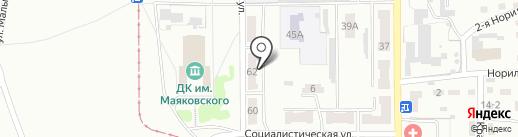 Фаворит на карте Прокопьевска