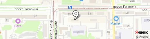 Детская библиотека №13 на карте Прокопьевска