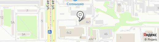Спортивно-оздоровительный центр на карте Прокопьевска