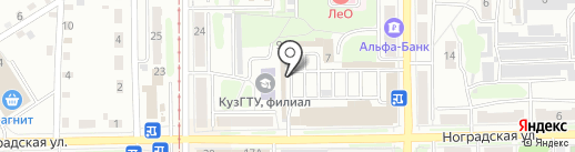 ВСЁ ДЛЯ СВАРКИ на карте Прокопьевска