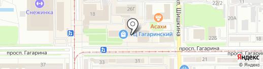 ЭКСТРАНЕТ на карте Прокопьевска