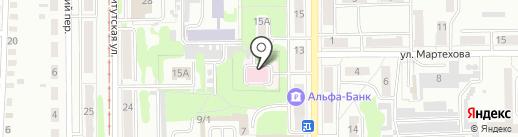 ЛеО-М на карте Прокопьевска