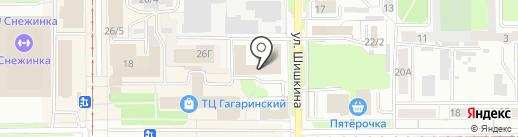 Росавтоэкс-Кузбасс на карте Прокопьевска