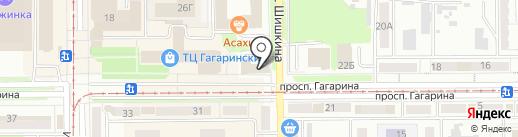 Жилой фонд на карте Прокопьевска