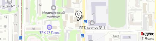 Домовик на карте Прокопьевска