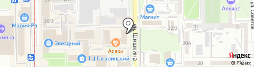 Прокси Прк на карте Прокопьевска