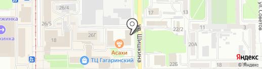Villaggio на карте Прокопьевска