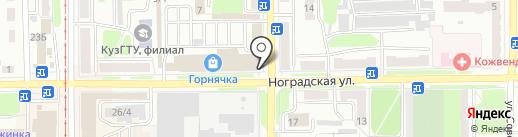 Альтер на карте Прокопьевска