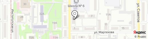 Сват на карте Прокопьевска