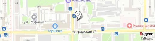 Аптека.ру на карте Прокопьевска