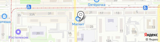 Оценка А+ на карте Прокопьевска