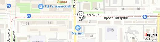 Забей на карте Прокопьевска