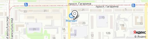 СибПолисНСК на карте Прокопьевска