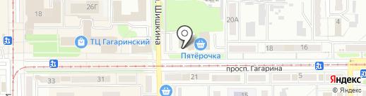 Дискавери на карте Прокопьевска