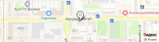 ККМ-Сервис на карте Прокопьевска