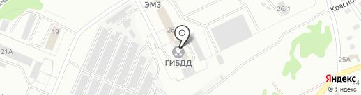 Частная справочная служба ГИБДД на карте Прокопьевска