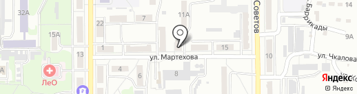 Детская музыкальная школа №11 на карте Прокопьевска