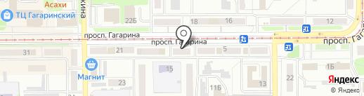 Отдел Военного комиссариата Кемеровской области по г. Прокопьевску и Прокопьевскому району на карте Прокопьевска