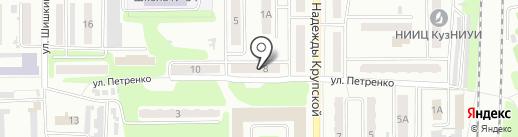 Строй-Эффект на карте Прокопьевска