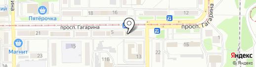 Аптеки со склада на карте Прокопьевска