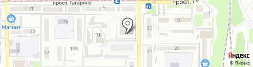 Управление социальной защиты населения Администрации Прокопьевского муниципального района на карте Прокопьевска