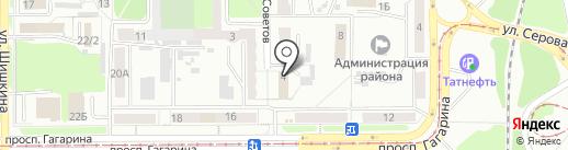 Отдел полиции Рудничный, Отдел МВД России по г. Прокопьевску на карте Прокопьевска