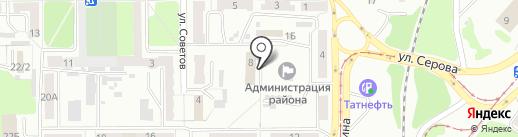 Мировые судьи Рудничного района г. Прокопьевска на карте Прокопьевска