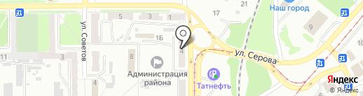 СМАРТ на карте Прокопьевска