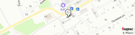 Алые паруса на карте Киселёвска