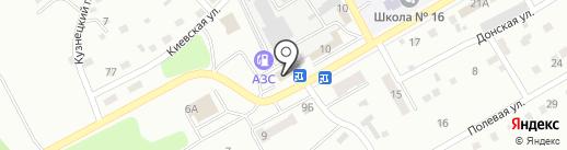 Магазин товаров для детей на карте Киселёвска