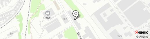 Визит на карте Прокопьевска