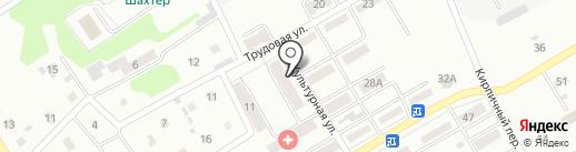 Буратино на карте Киселёвска