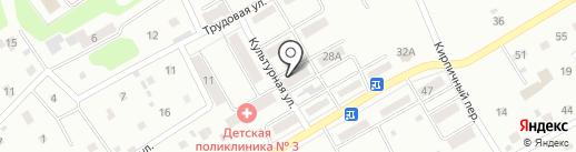 Золушка на карте Киселёвска