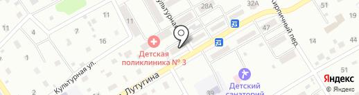 Кенгу 24 на карте Киселёвска