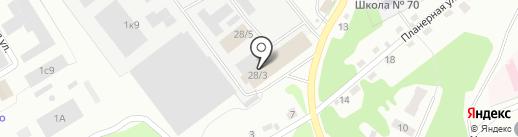 Автомастер на карте Прокопьевска