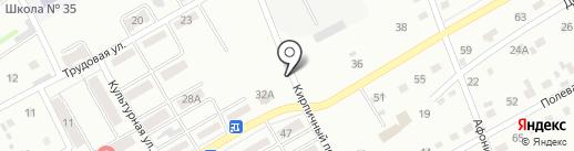 Ромашки на карте Киселёвска