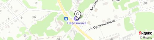 АЗС Бенд на карте Прокопьевска